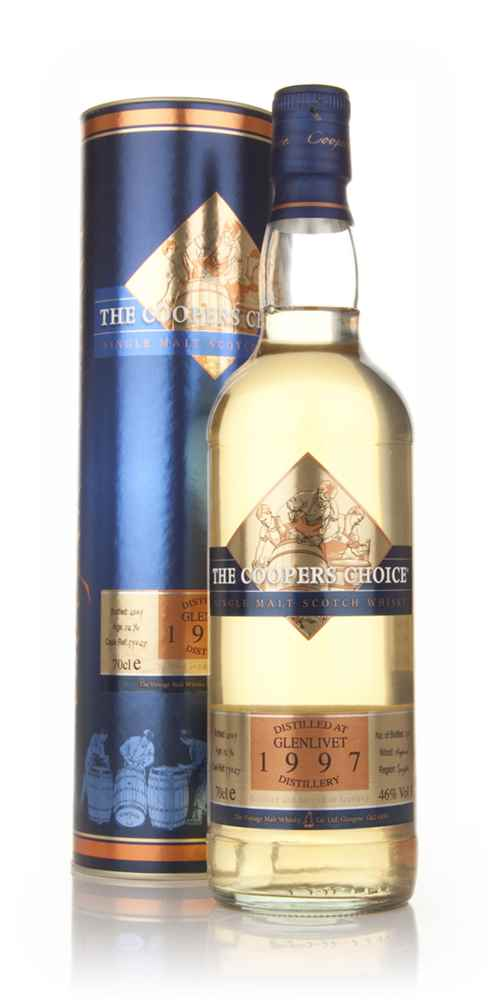 Glenlivet 1997 - The Coopers Choice (The Vintage Malt Whisky Co.)