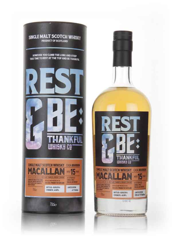 Macallan 15 Year Old (Rest & Be Thankful)