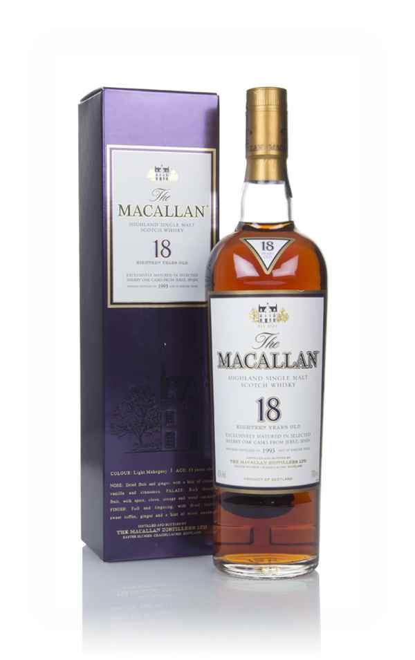 The Macallan 18 Year Old 1993 Sherry Oak