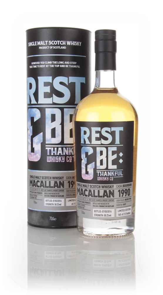 Macallan 26 Year Old 1990 (cask 4049) (Rest & Be Thankful)