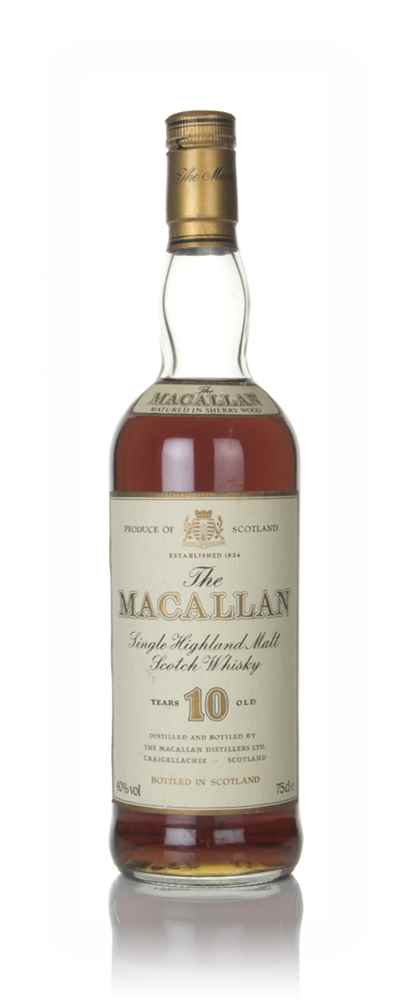 The Macallan 10 Year Old - 1990s (75cl)