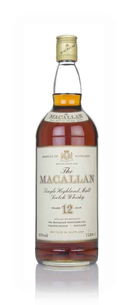 The Macallan 12 Year Old (1L) (without Presentation Box) - 1980s