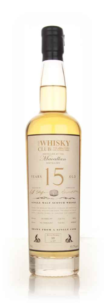 The Macallan 15 Year Old 1997 (The Whisky Club)