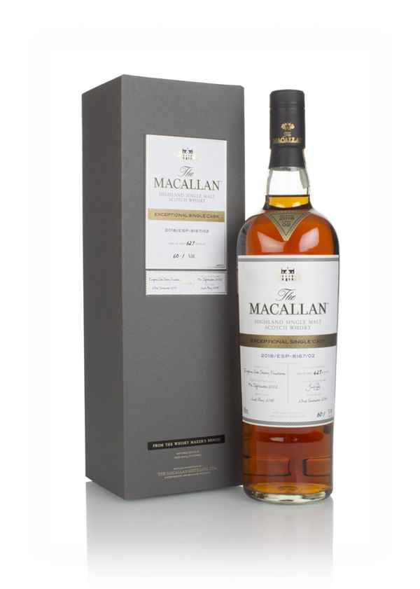 The Macallan 15 Year Old 2002 - Exceptional Single Cask (2018 Release)