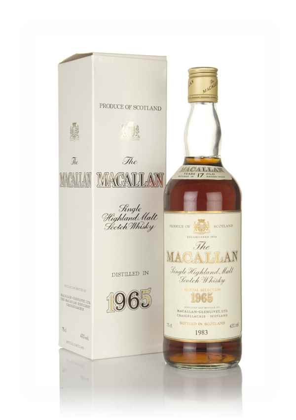 The Macallan 17 Year Old 1965  - Special Selection