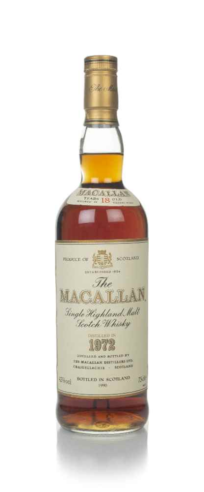 The Macallan 18 Year Old 1972