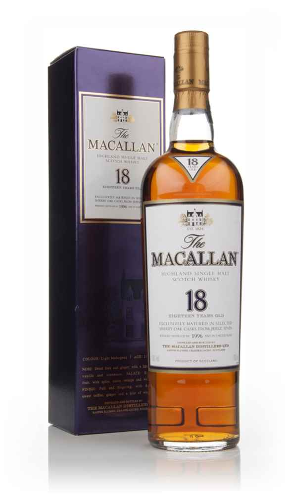 The Macallan 18 Year Old 1996 Sherry Oak