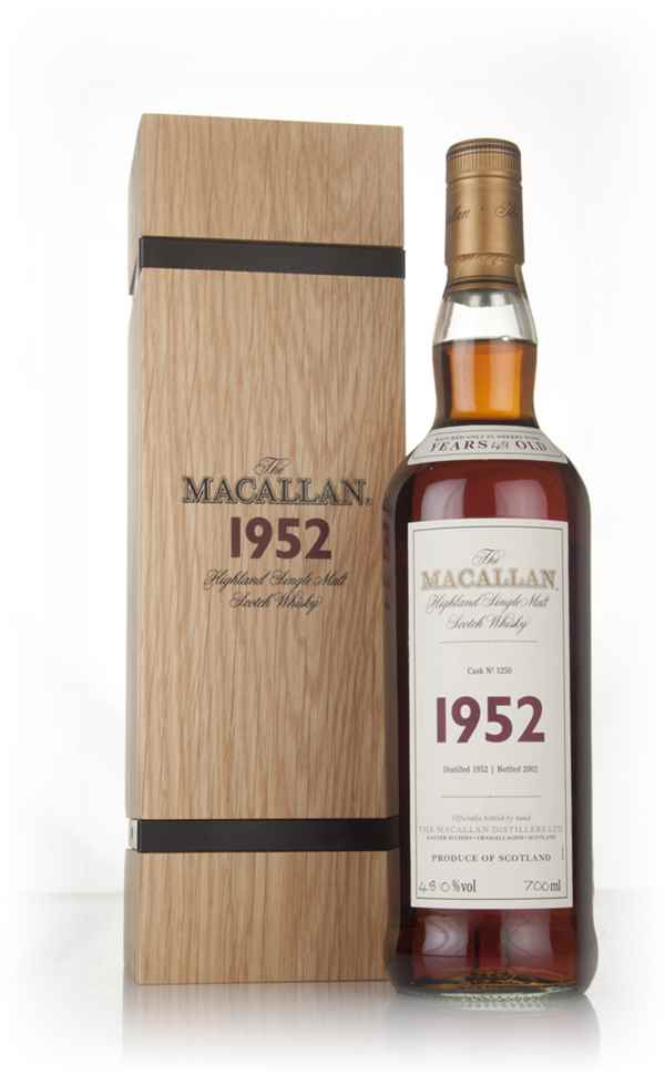 The Macallan 49 Year Old 1952 (cask 1250) - Fine & Rare