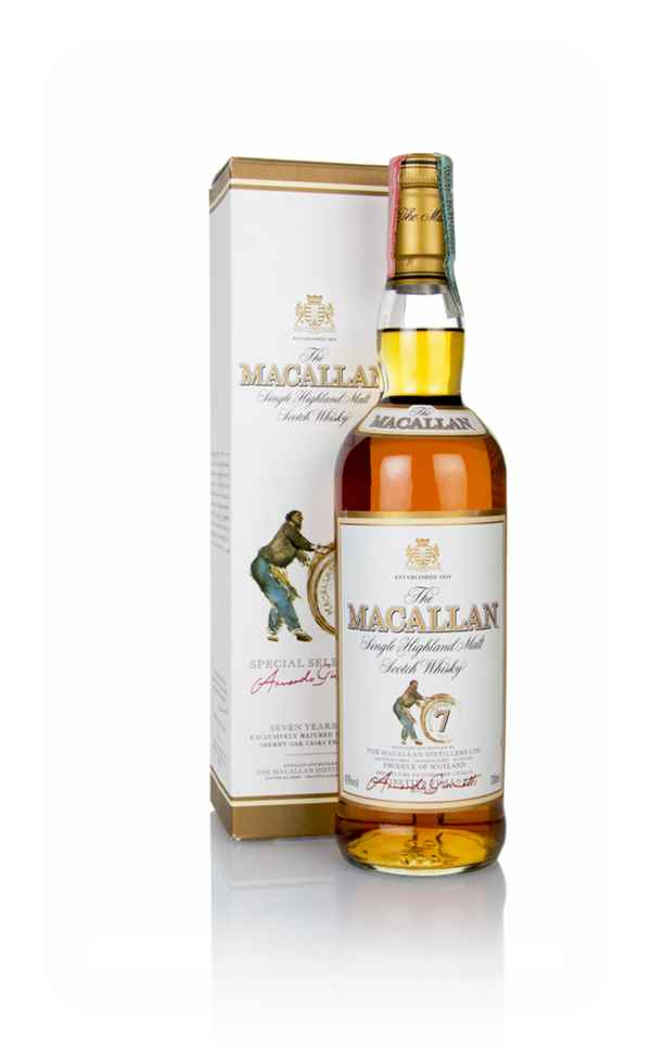 The Macallan 7 Year Old - Armando Giovinetti Special Selection