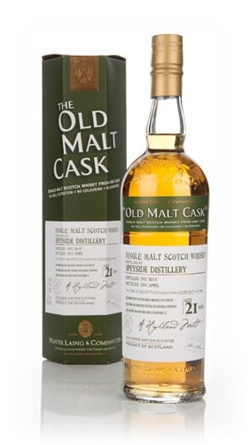Speyside Distillery 21 Year Old 1992 (cask 10485) - Old Malt Cask (Hunter Laing)