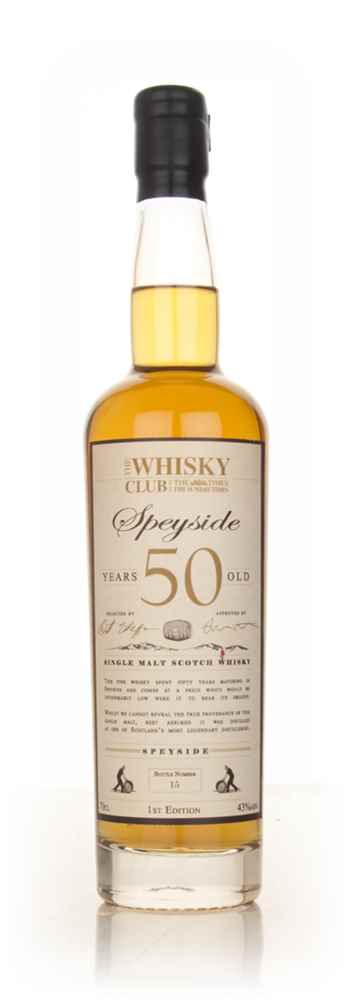 The Whisky Club 50 Year Old Speyside