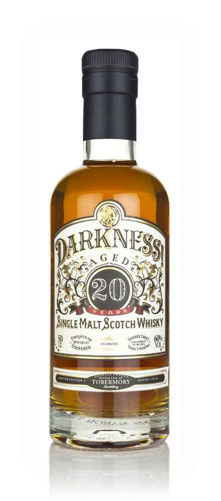 Darkness! Tobermory Heavily Peated 20 Year Old Oloroso Cask Finish