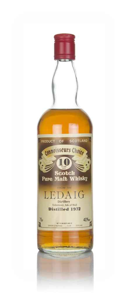 Ledaig 10 Year Old 1972 - Connoisseurs Choice (Gordon & MacPhail)
