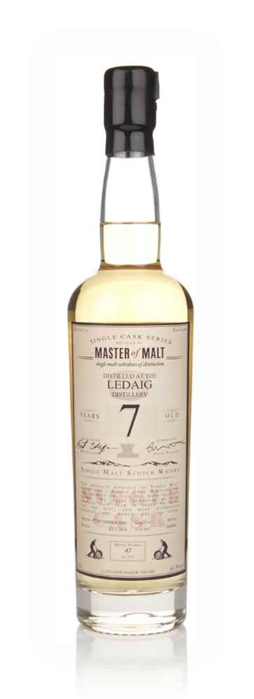 Ledaig  7 Year Old 2005 - Single Cask (Master of Malt)