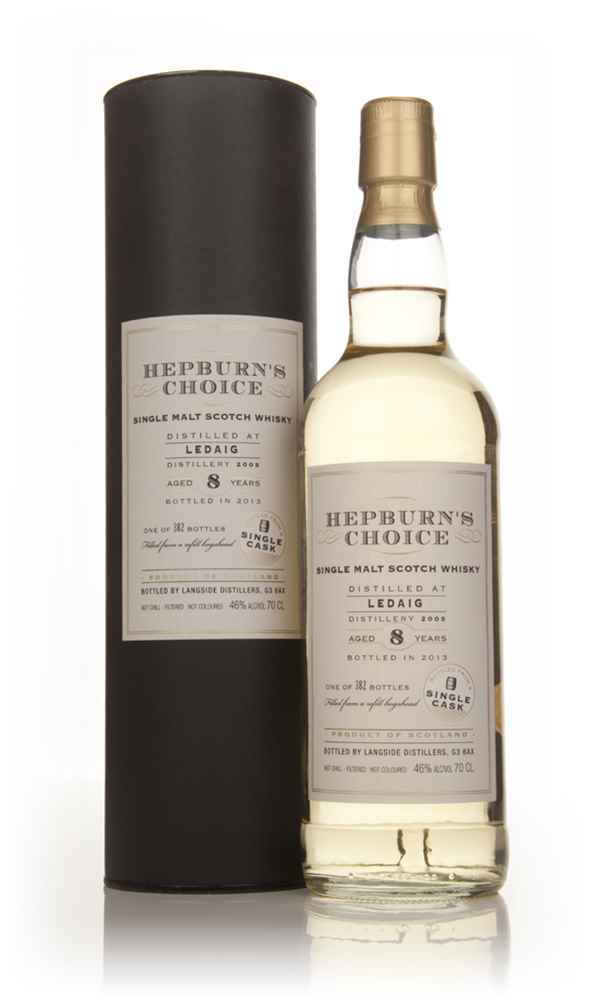 Ledaig 8 Year Old 2005 - Hepburn's Choice (Langside)