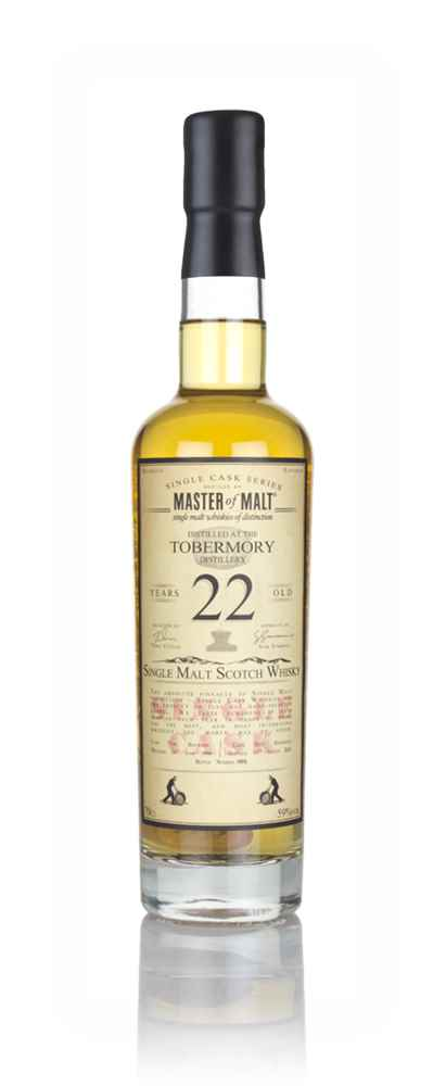 Tobermory 22 Year Old 1996 - Single Cask (Master of Malt)