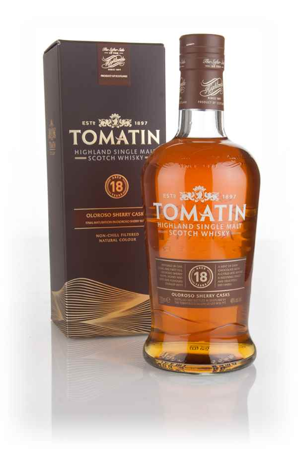 7fb265ea51f Tomatin 18 Year Old Sherry Cask Whisky - Master of Malt
