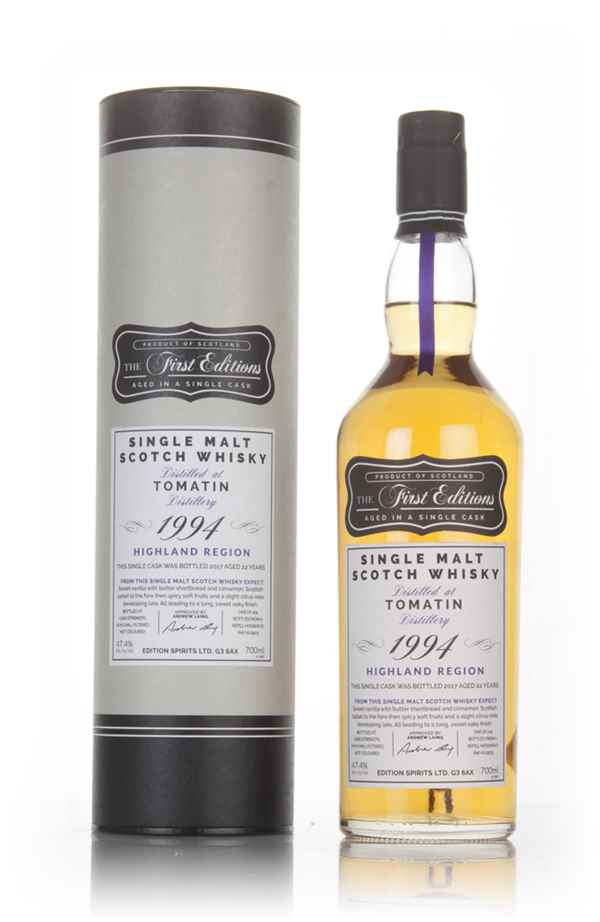 Tomatin 22 Year Old 1994 - The First Editions (Hunter Laing)
