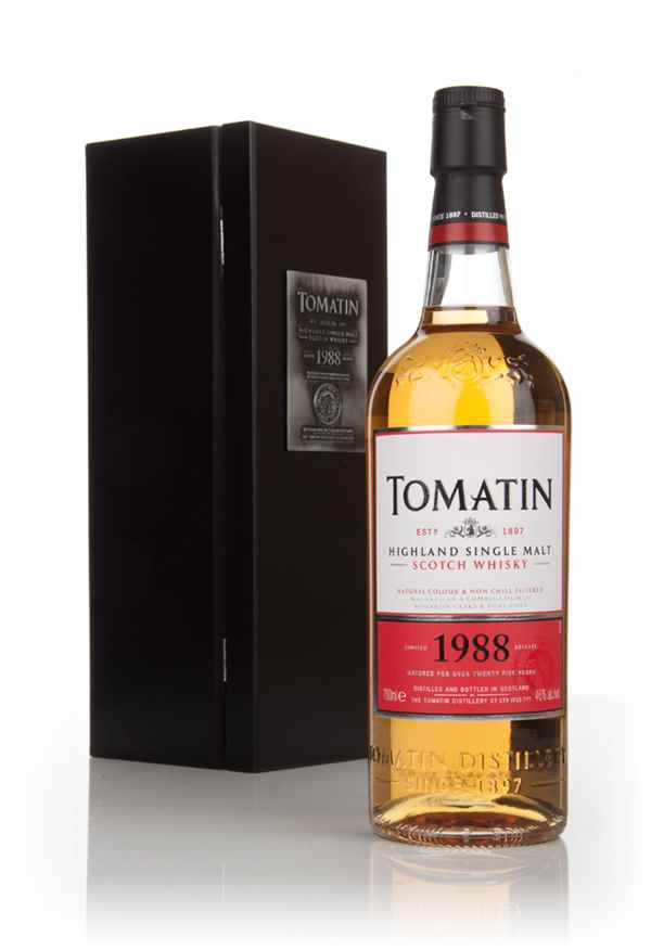 Tomatin 25 Year Old 1988 - Batch 1