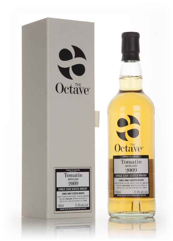 Tomatin 7 Year Old 2009 (cask 6811313) - The Octave (Duncan Taylor)