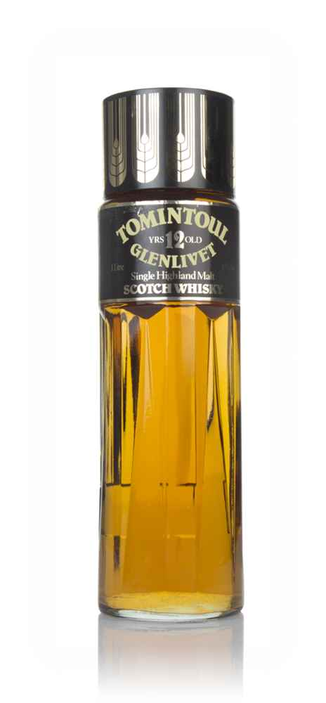 Tomintoul 12 Year Old (Perfume Bottle) - 1980s