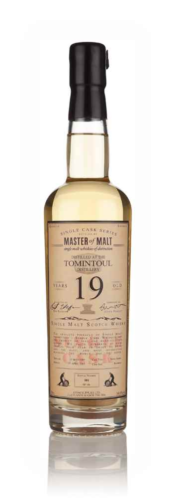 Tomintoul 19 Year Old 1995 - Single Cask (Master of Malt)