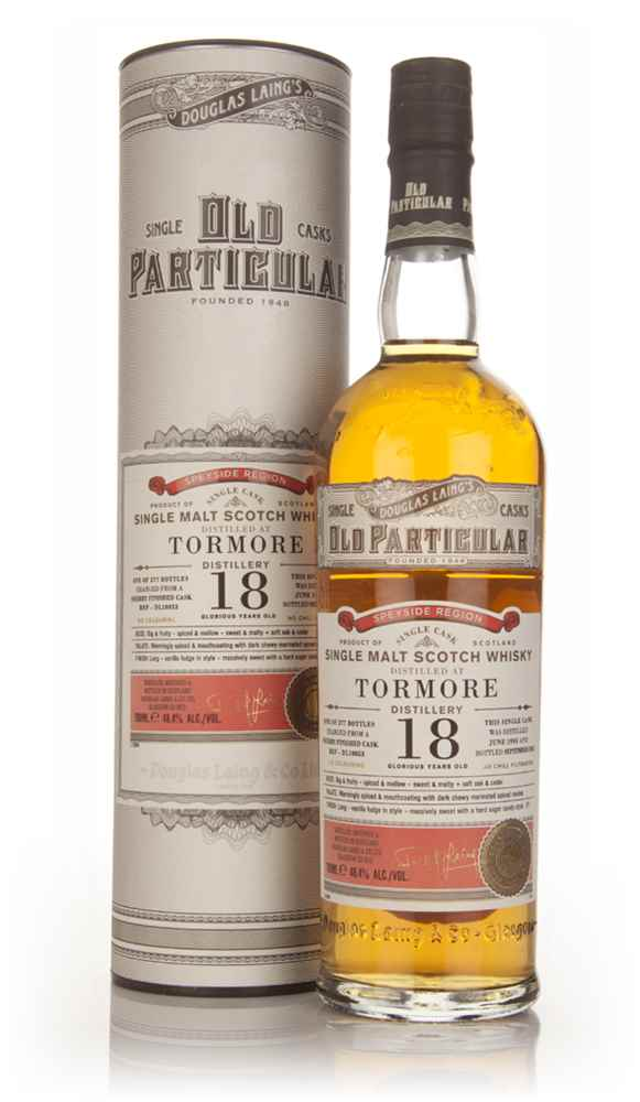 Tormore 18 Year Old 1995 (cask 10053) - Old Particular (Douglas Laing)
