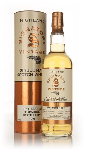 Tormore 18 Year Old 1995 (Casks 3881+3882) - (Signatory)