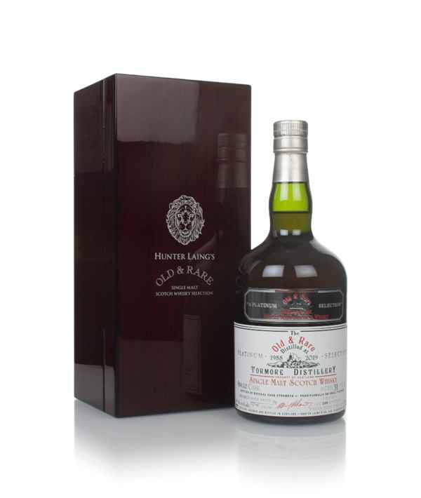 Tormore 31 Year Old 1988 - Old & Rare Platinum (Hunter Laing)