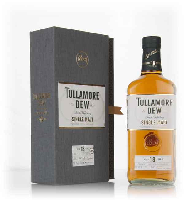 Tullamore D.E.W. 18 Year Old Single Malt