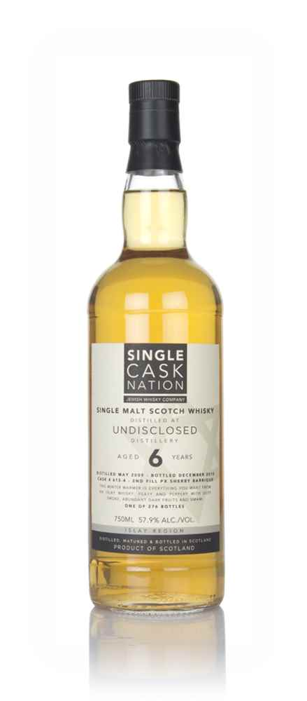 Undisclosed 6 Year Old 2009 (Single Cask Nation)