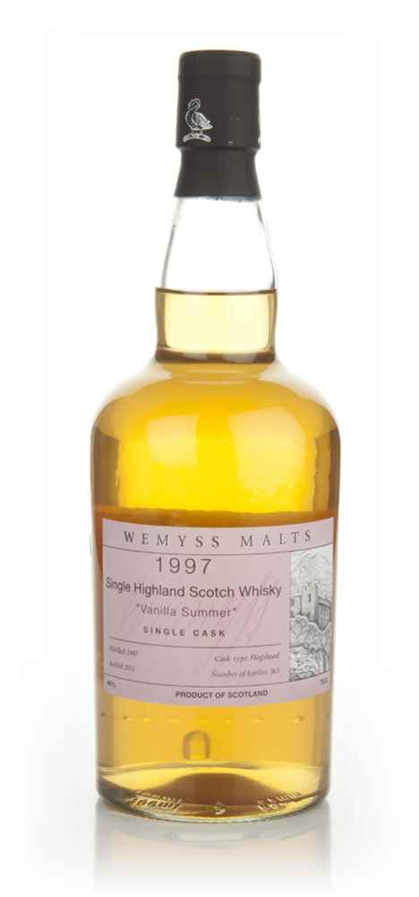 Vanilla Summer 1997 (Wemyss Malts)