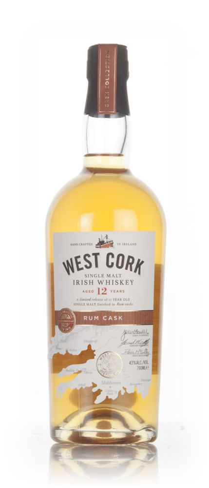 West Cork 12 Year Old Rum Cask Finish