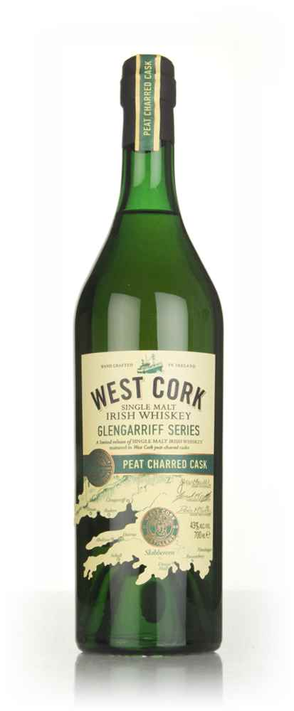 West Cork Glengarriff Series - Peat Charred Cask Finish