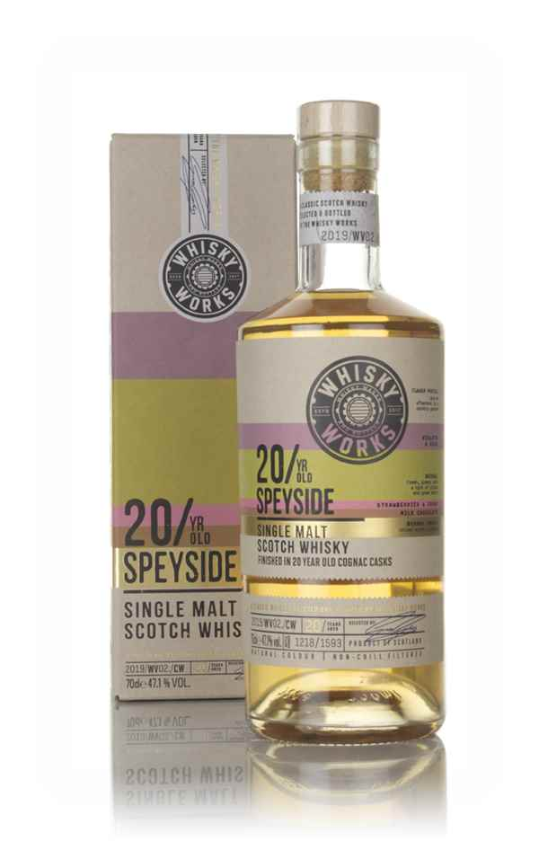 Whisky Works Speyside 20 Year Old