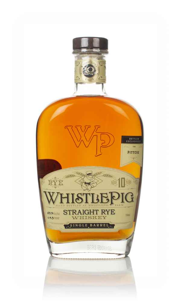 WhistlePig 10 Year Old - Pitt Cue Exclusive