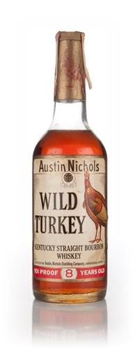 Wild Turkey 8 Year Old - 1978