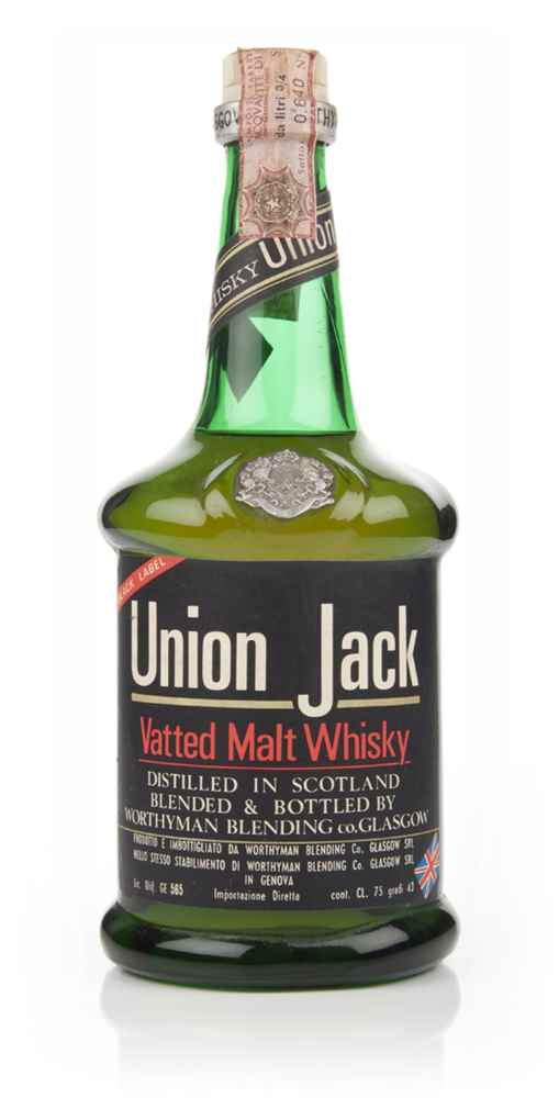 Union Jack Whisky - 1970s