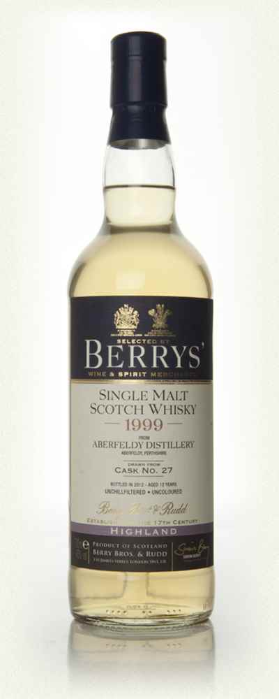 Aberfeldy 12 Year Old 1999 (Berry Bros. & Rudd)