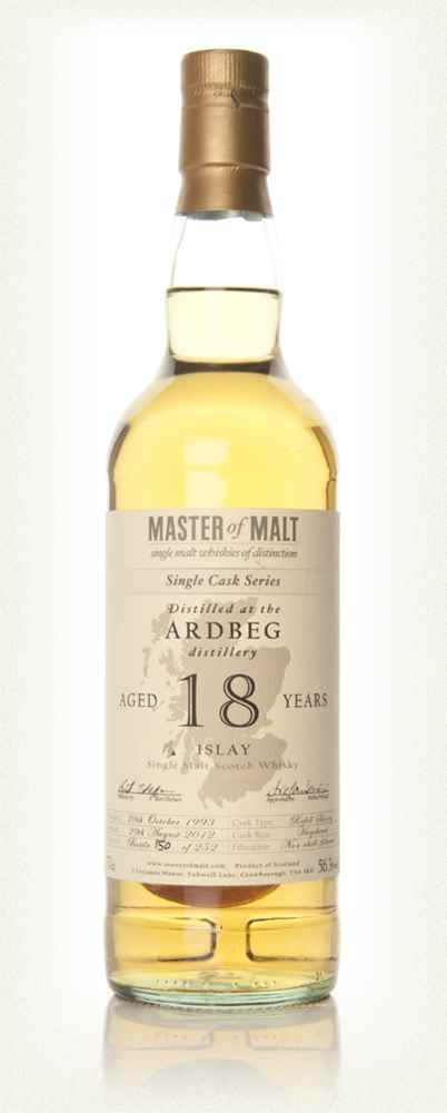 Ardbeg 18 Year Old - Single Cask (Master of Malt)