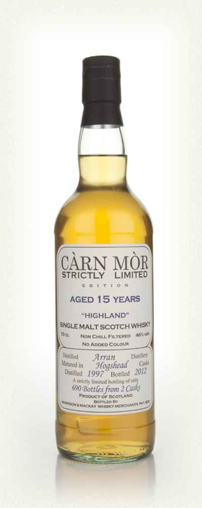 Arran 15 Year Old 1997 - Strictly Limited (Càrn Mòr)