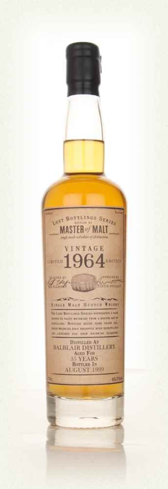 Balblair 35 Year Old 1964 - Lost Bottlings Series (Master of Malt)