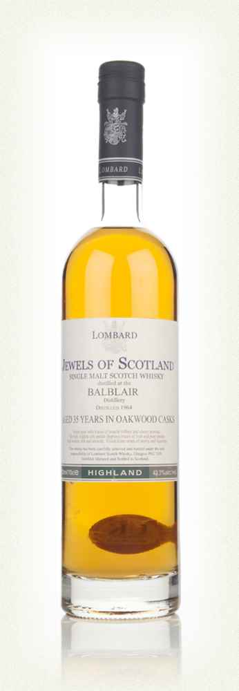Balblair 35 Year Old - Jewels of Scotland (Lombard)