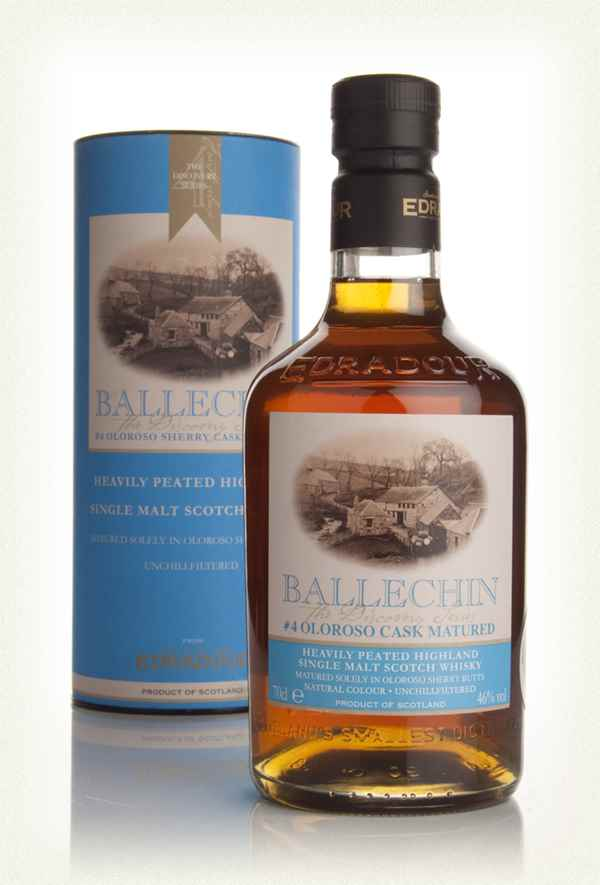 Edradour Ballechin #4 Oloroso Cask Matured (The Discovery Series)