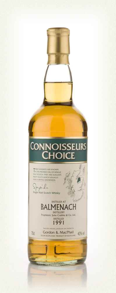 Balmenach 1991 - Connoisseurs Choice (Gordon and MacPhail)