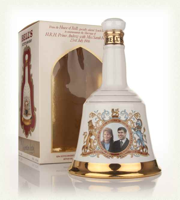 Bell's Prince Andrew and Miss Sarah Ferguson 1986 Decanter