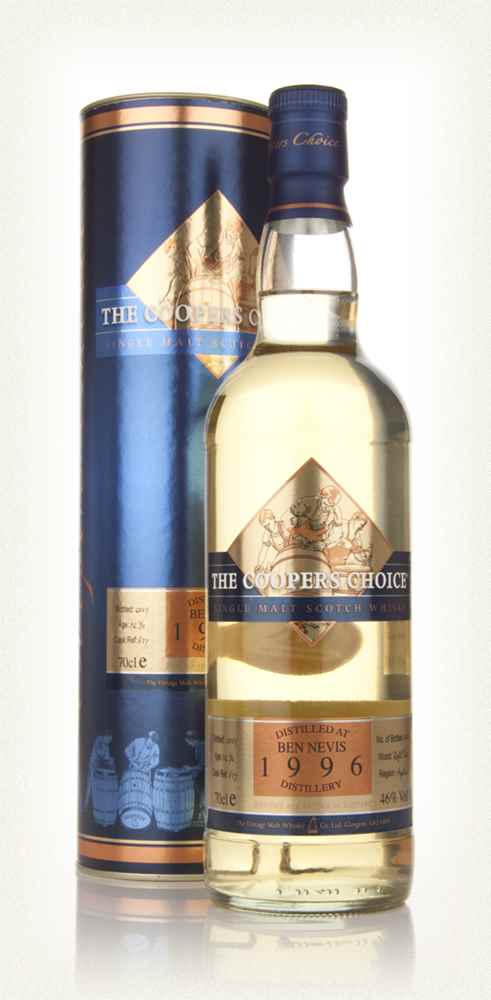Ben Nevis 12 Year Old 1996 - The Coopers Choice (The Vintage Malt Whisky Co.)