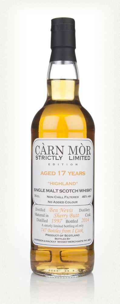 Ben Nevis 17 Year Old 1997 - Strictly Limited (Càrn Mòr)