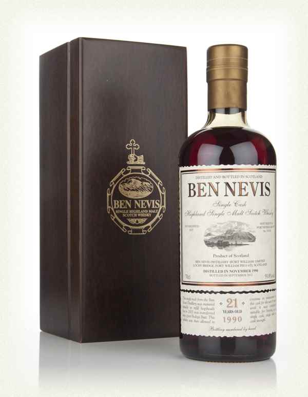 Ben Nevis 21 Year Old 1990 Ruby Port Cask Finish