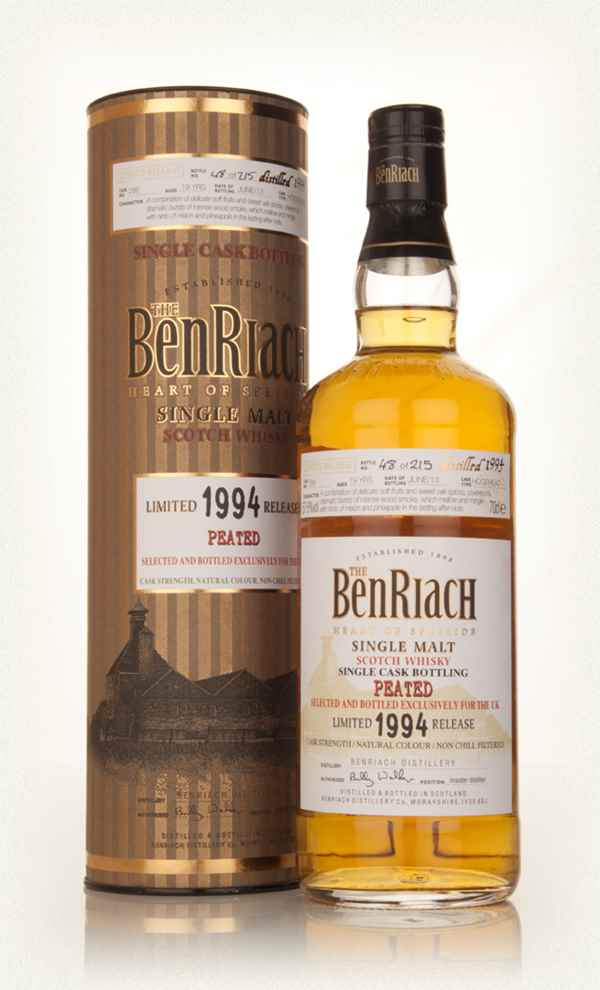 BenRiach 19 Year Old 1994 Peated (cask 286)